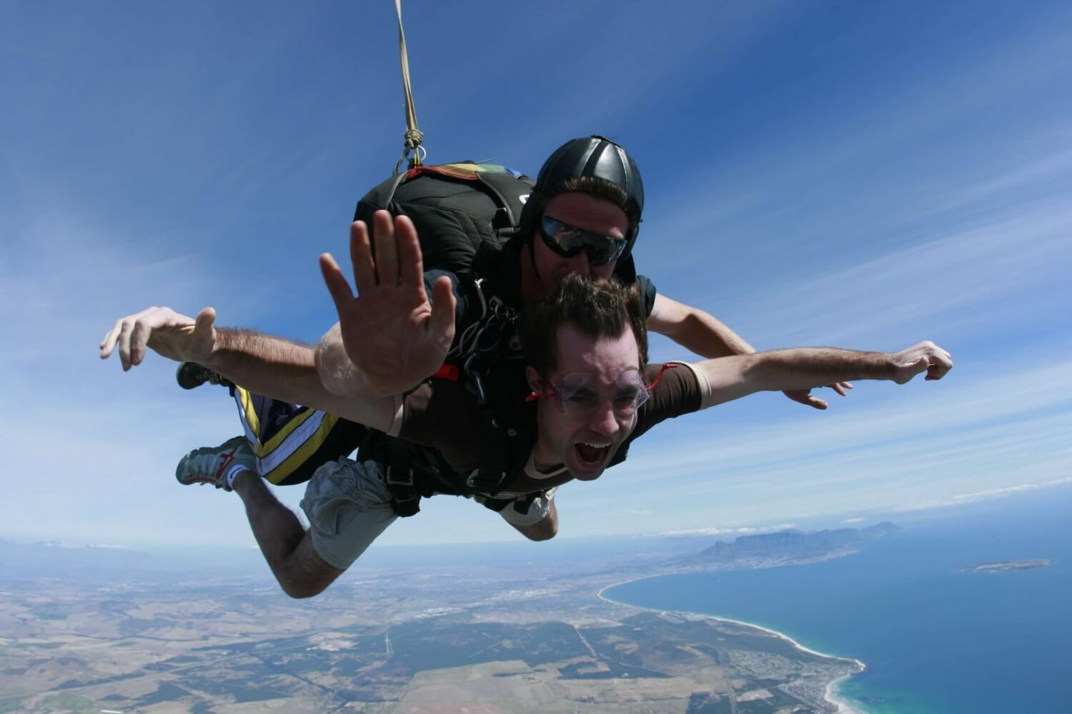 Sky Diving Cape Town South Africa (1)