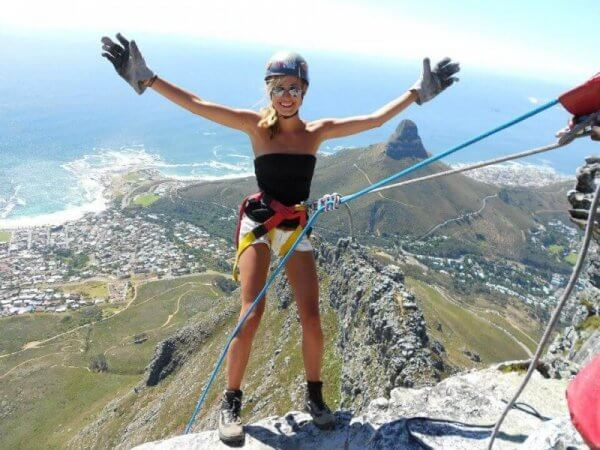 Abseiling Cape Town